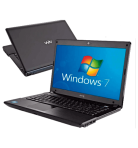 "Notebook CCE Ônix - Intel Core i7-2630QM - RAM 8GB - HD 1TB - Tela Led 14"" - Windows 7 Home Basic"
