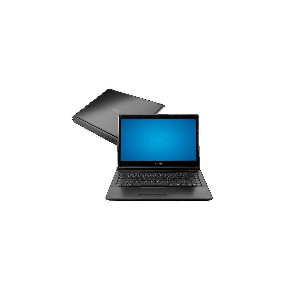 "Notebook CCE 787P+ - Intel Core i7-2630QM - RAM 8GB - HD 750GB - Tela 14"" - Windows 7 Home Premium - Preto"