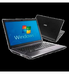 "Notebook CCE Iron 345B+ - Intel Core i3-2310M - RAM 4GB - HD 500GB - Tela 14"" - Windows 7 Home Basic"