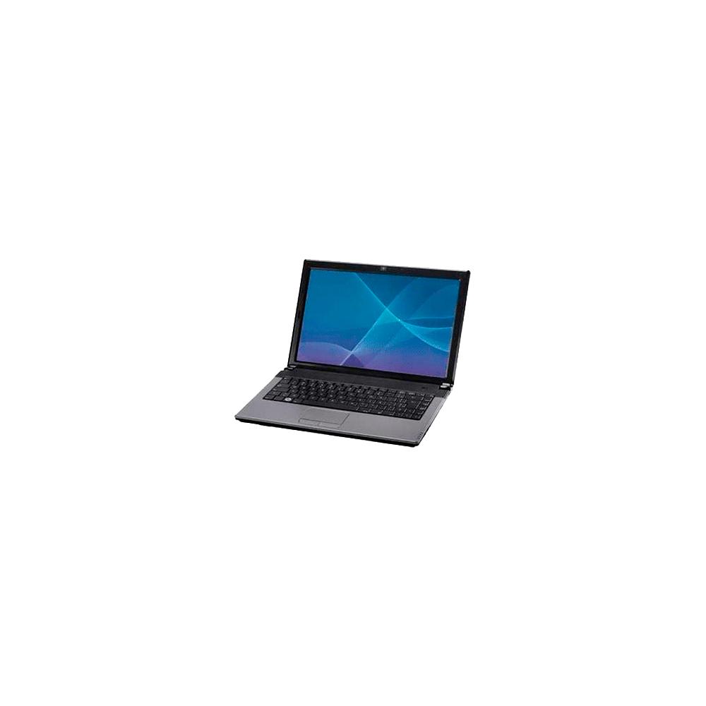 "Notebook CCE ILP-232 - Intel Pentium Dual Core T3400 - RAM 2GB - HD 320GB - Tela 14.1"" - Linux - Prata"