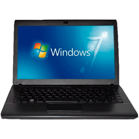 "Notebook CCE Iron 745P+ - Intel Core i7-2630QM - RAM 4GB - HD 500GB - Tela 14"" - Windows 7 Home Basic"