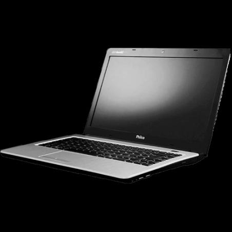 "Notebook Philco Slimbook 14I-L724W8SL - HD 320GB - AMD BRAZOS Dual Core C-60 - Tela 14"" - RAM 2GB - Windows 8"
