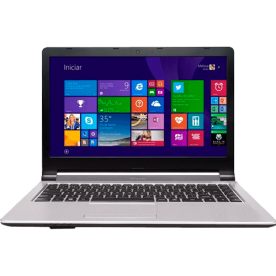 "Notebook Positivo TV XS3210 - Intel Celeron N2806 - RAM 4GB - HD 500GB - Tela 14"" - Windows 8.1"