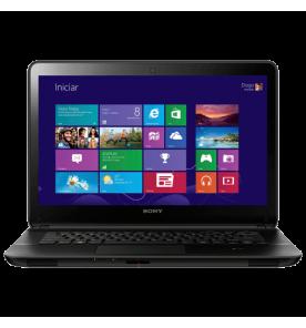 "Notebook Sony Vaio Fit SVF14215CBB - Touchscreen - Intel Core i5-33337U - HD 750GB - RAM 6GB - Tela 14"" - Windows 8 - Preto"