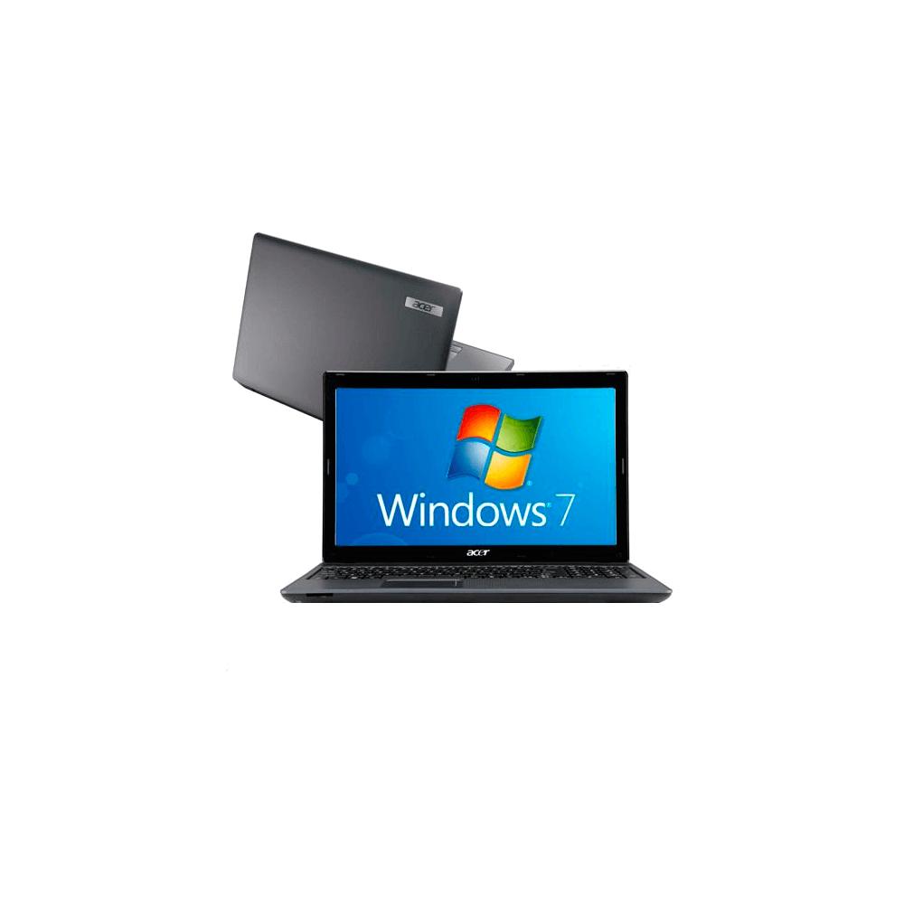 "Notebook Acer AS5733-6898 Intel Core i5-480M - RAM 4GB - HD 500GB - Tela 15.6"" - Windows 7 Home Basic"