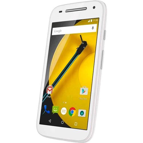 """Smartphone Motorola Moto E XT1523 2ª Geração - Branco - TV Digital - 16GB - Câmera 5MP - 4G - Tela 4.5"""" - Android 5.0"""