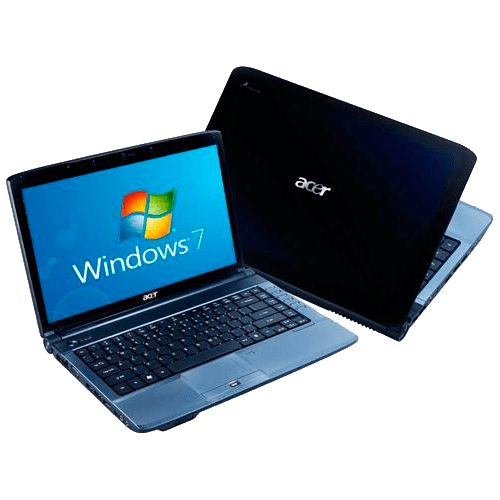 "Notebook Acer AS4740-5656 - Preto - Intel Core i3-330M - RAM 3GB - HD 250GB - Tela 14"" - Windows 7 Home Premium"