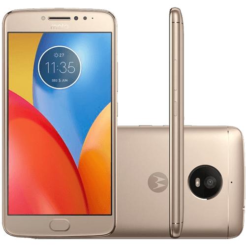 "Smartphone Motorola Moto E4 Plus XT1773 - Ouro - 16GB - Dual-Chip - Tela 5.5"" - Android 7.1"