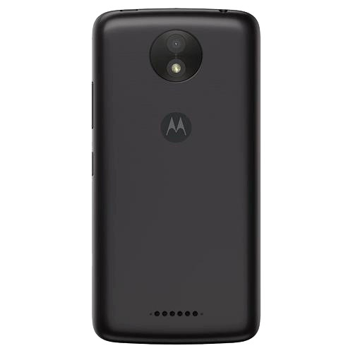 "Smartphone Motorola Moto C Plus XT1726 - Preto - 8GB - TV Digital - Dual Chip - 4G - Câmera 8MP - Tela 5"" - Android 7.0"