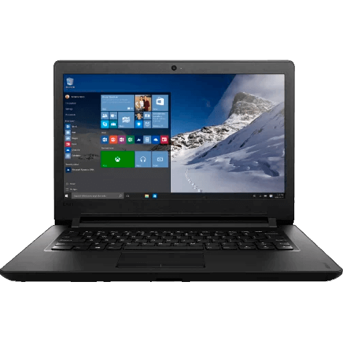 "Notebook Lenovo Ideapad 11014IBR80UJ0002BR - HD 500GB - RAM 2GB - Dual Core - Tela 14"" - Windows 10"