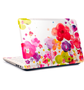 "Notebook HP Pavilion Flowers DV5-2231BR - Branco - AMD Dual Core - RAM 2GB - HD 320GB - Tela 14"" - Windows 7"