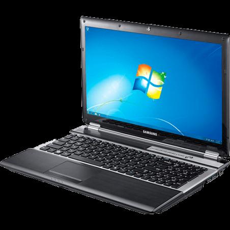 "Notebook Samsung NP-RF511-SD3BR - Preto - Intel Core i7-2630QM - RAM 6GB - HD 750GB - Tela 15.6"" - Windows 7 Pro"