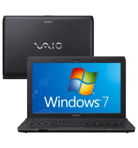 "Notebook Sony Vaio VPCYB45JB/B - Preto - AMD E-450 - RAM 2GB - HD 500GB - Tela 11.6"" - Windows 7"
