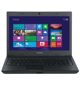 "Notebook Positivo Premium S5005 - Preto - Intel Core i3-2328M - RAM 4GB - HD 500GB - Tela 14"" - Windows 8"