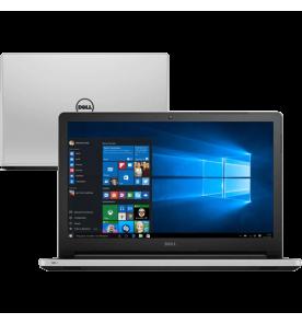 "Notebook Dell Inspiron I15-5558-A45 - Branco - Intel Core i7-5500U - RAM 4GB - HD 500GB - Tela 15.6"" - Windows 10"