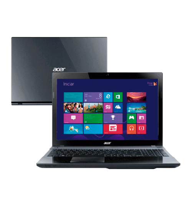 V3-571-9423 000678  Notebook Acer V3-571-9423 Intel Core i7-3632QM - RAM 6GB - HD 500GB - 15.6'' Windows 8