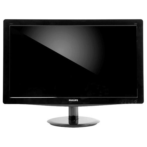 "Monitor Philips 236V3L - Preto - Tela LED 23"" - Full HD"