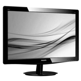 "Monitor Philips 236V3L - Preto - Tela LED 23"" - Full HD"