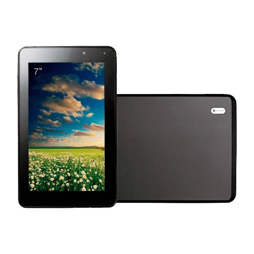 "Tablet CCE Motion Tab T733 Preto - Wi-Fi - Câmera 2MP - Tela de 7"" - Bluetooth - Android 4.0"