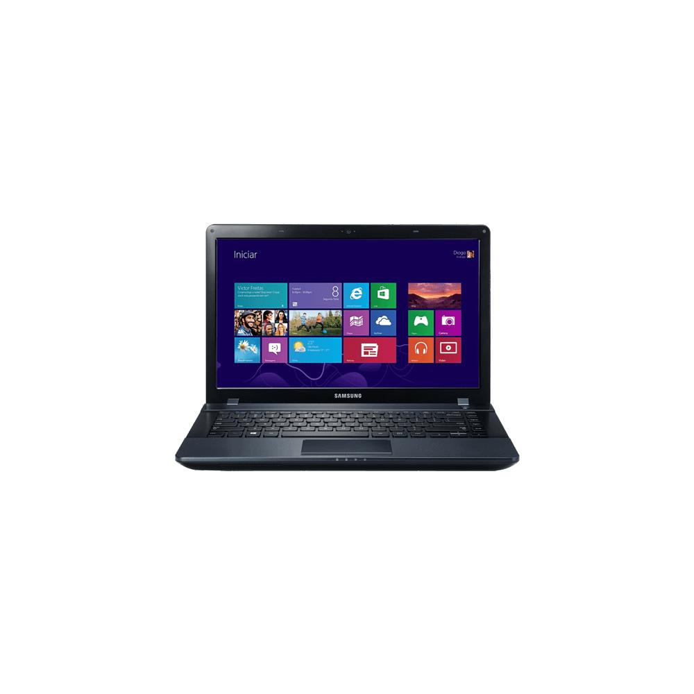 """Notebook Samsung ATIV Book 2 NP270E4E-KD8BR - Preto - Intel Celeron 1007U - RAM 2GB - HD 500GB - Tela 14"""" - Windows 8"""