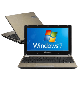 "Netbook Acer Gateway LT2303P - Intel Atom Dual Core - RAM 2GB - HD 250GB - Tela 10.1"" - Windows 7 Starter"