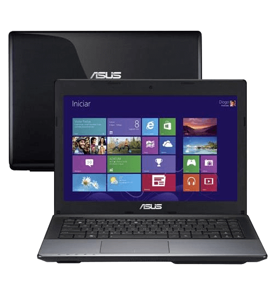 "Notebook Asus X45C-VX038H - Preto - Intel Pentium B980 - RAM 4GB - HD 750GB - LED 14"" - Windows 8"