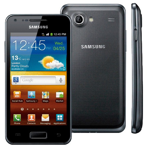 "Smartphone Samsung Galaxy S Advance Preto - 3G - Bluetooth - 5MP - Tela 4"" - Dual Core - Android 2.3"