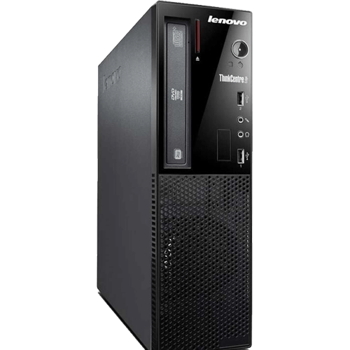 Computador Lenovo ThinkCentre E73-10AU00JYBP - Preto - Intel Core i3-4160 - RAM 4GB - HD 500GB - Windows 8 Pro