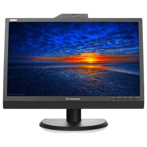 "Monitor Lenovo ThinkVision LT2223z - Preto - HDMI - Tela LED 21.5"""