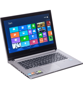"Notebook Lenovo Z400-688164P - Intel Core i5-3210M - RAM 8GB - HD 1TB - LED 14"" Touchscreen - Windows 8"