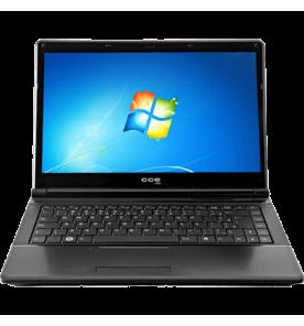 "Notebook CCE Onix 745P - Preto - Intel Core i7-2630QM - RAM 4GB - HD 500GB - Tela 14"" - Windows 7 Home"