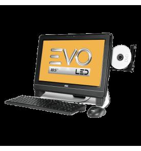 "Computador AOC EVO All in One 9325U-DA181MA - AMD E-350 - RAM 2GB - HD 500GB - LED 18.5"" - Windows 7 Starter"