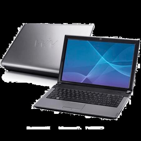 "Notebook CCE ILE-432 - Prata - Intel Core 2 Duo - RAM 4GB - HD 320GB - Tela 14"" - Satux Linux"