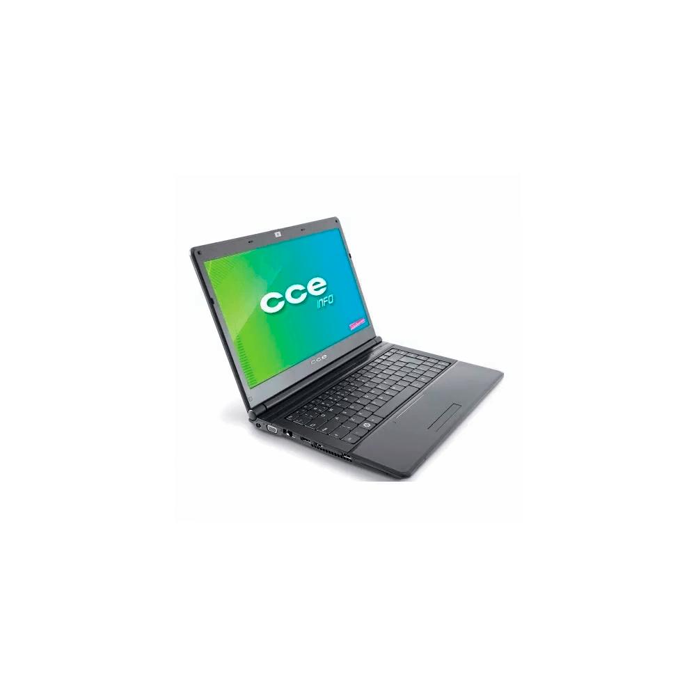 "Notebook CCE Titan 123S - Intel Celeron B800 - RAM 2GB - HD 320GB - Tela 14"" - Windows 7"