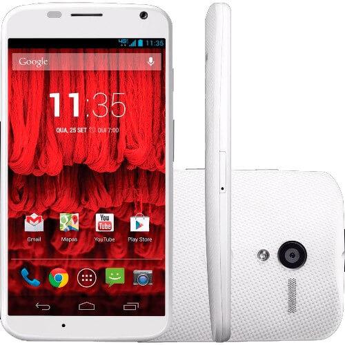 "Smartphone Motorola Moto X XT1058 - 4G - Wi-Fi - 16GB - Tela de 4.7"" - 10MP - Android 4.4 - Branco"