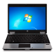 Notebook HP Elitebook 2540P - Intel Core i7 - Windows 7 Professional - RAM 4GB - HD 160GB - Tela 12.1""