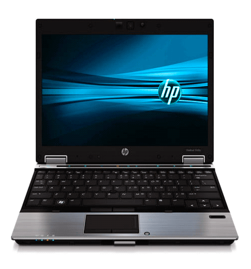 "Notebook HP Elitebook 2540P  - Intel Core i7 - Windows 7 Professional - RAM 4GB - HD 160GB - Tela 12.1"""