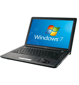 "Notebook Philco PHN 14A2-P223WS - Preto - Intel Pentium T4300 - HD 320GB - RAM 2GB - Tela 14"" - Windows 7 Starter"