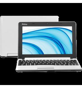 """Netbook Philco 10C-B123LM - Branco - Intel Atom D2500 - RAM 2GB - HD 320GB - Tela 10.1"""" - Linux"""