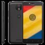 "Smartphone Motorola Moto C Plus XT1726 - Preto - 16GB - Dual Chip - 4G - Tela 5""- Câmera 8MP - Android 7.0"