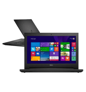 "Notebook DELL Inspiron I14-3442-A40 - Preto - Intel Core i5-4210U - GeForce 820M - RAM 8GB - HD 1TB - Tela 14"" - Windows 8.1"