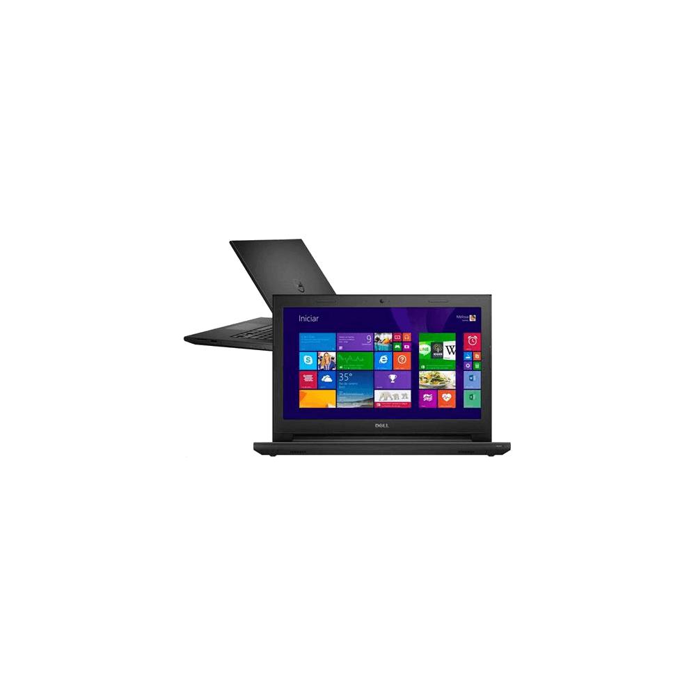 "Notebook DELL Inspiron I14-3442-A40 - Preto - Intel Core i5-4210U - GeForce 820M -  RAM 8GB - HD 1TB - Tela 14"" - Windows 8.1"