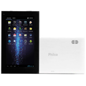 "Tablet Philco PH7G B211A4-2 - Branco - Cortex A9 - 8GB - 2MP - Tela 7""- Android 4.2"
