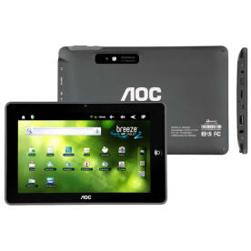 "Tablet AOC Breeze 2 MW0821 - Preto - ARM Cortex-A8 - 4GB - 3MP - Tela 8"" - Android 2.3"