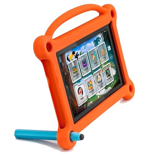 "Tablet Positivo Kids T710 - Capa Laranja - Dual Core - 8GB - 2MP - Tela 7"" - Android 4.4"