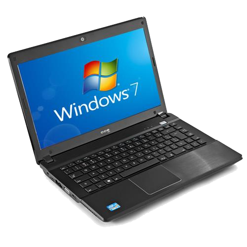 "Notebook CCE Chromo-535P - Preto - Intel Core i5-2410M - RAM 3GB - HD 500GB - Tela 14"" - Windows 7"