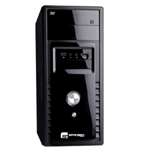 Computador Desktop SpaceBR-P3210L - Intel Core i3-2100 - RAM 4GB - HD 500GB - Linux
