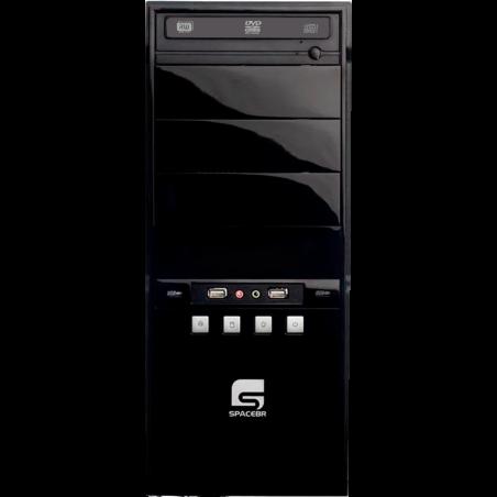 Computador Desktop SpaceBR-AM3X4-LNX - Preto - AMD Athlon II X4 630 - RAM 6GB - HD 500GB - Linux