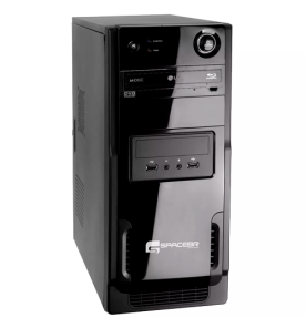 Computador Desktop SpaceBR-I60I60 - Preto - Intel Core i3-3220 - RAM 6GB - HD 1TB - Linux