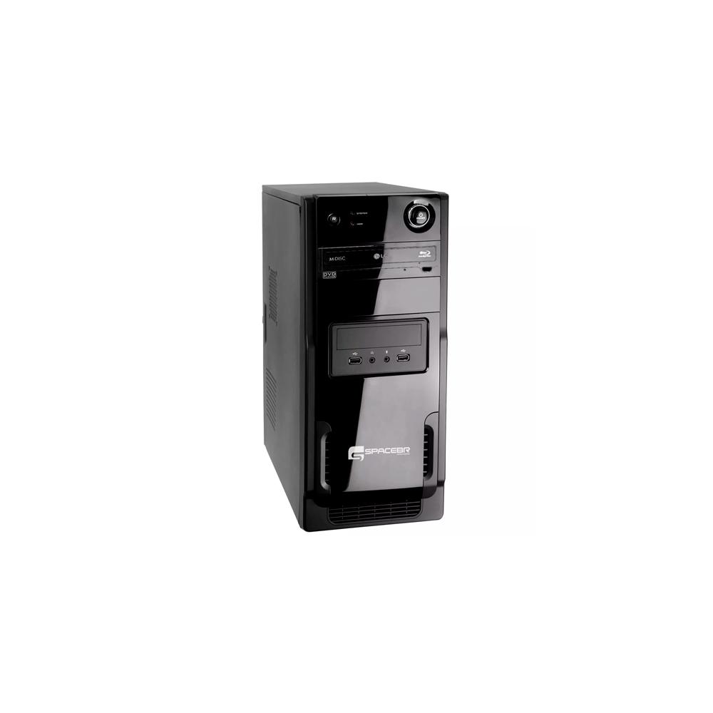 Desktop SpaceBR-P3I73 - Preto - Intel Core i5-3330 - RAM 6GB - HD 1TB - Linux